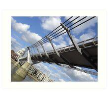 Wibbly Wobbly Bridge - Londinium Art Print