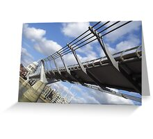 Wibbly Wobbly Bridge - Londinium Greeting Card