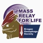 Mass Relay for Life - Genophage Awareness by awboan