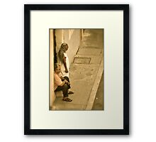 Communication II Framed Print