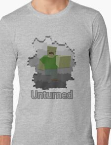 Unturned Graphic Long Sleeve T-Shirt
