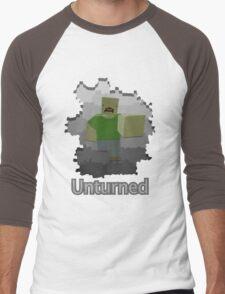 Unturned Graphic Men's Baseball ¾ T-Shirt