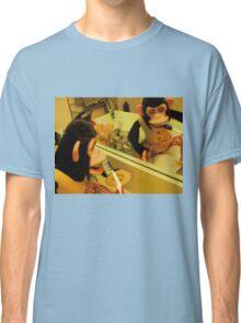 Musical Jolly Chimp Brushes His Teeth Classic T-Shirt