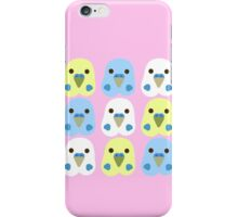 Budgie Heads iPhone Case/Skin