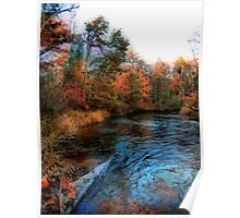 Autumn Reflection In Bear Creek Poster