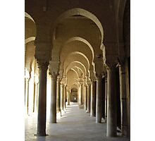 Arches - Grand Mosque, Tunisia Photographic Print