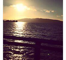 Fairhaven Sunset Photographic Print