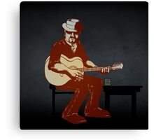 Character from the 'Burnt Out by the Light' video Canvas Print