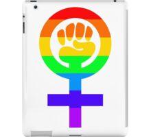 Rainbow Feminism Symbol iPad Case/Skin