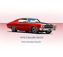 1970 Chevelle Super Sport SS454 Photographic Print