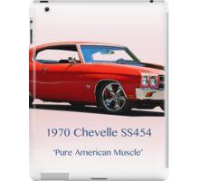1970 Chevelle Super Sport SS454 iPad Case/Skin
