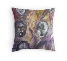 Moods of Winter Throw Pillow