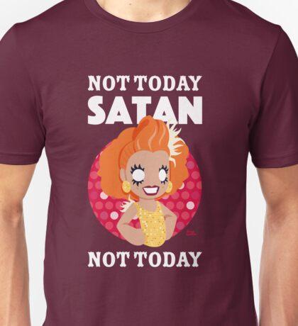 Not Today Satan, Not Today Unisex T-Shirt