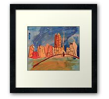 Melbourne City  Framed Print