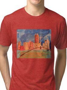 Melbourne City  Tri-blend T-Shirt