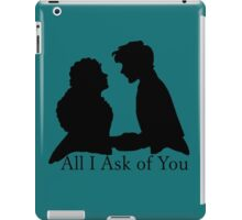 Raoul and Christine - Text iPad Case/Skin