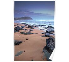 Forresters Beach at Sunset Poster