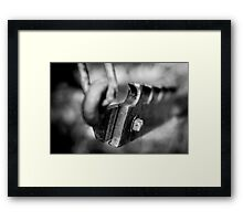 tough Framed Print