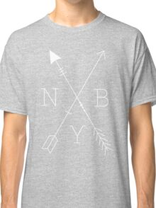 NBY Arrows White Classic T-Shirt