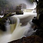 Below Fergusson Falls by Michael Gay
