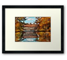 Architecture- Bridges - Worn out but still used Framed Print