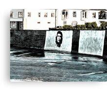 Che Guevara At Kilkee Ireland Canvas Print