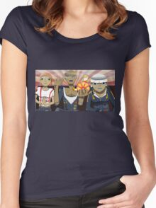 Tres Amigos Women's Fitted Scoop T-Shirt