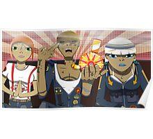 Tres Amigos Poster