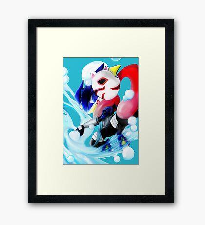 Pokemon Anbu Greninja  Framed Print