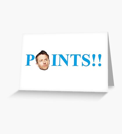 POINTS!! Catchphrase Greeting Card