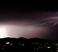 Electrical Storm - Hobart NYE 2009 by kerenmc
