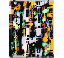 psychedelic Ladders and windows, abstract modern iPad Case/Skin