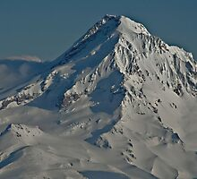 The top of Mt Hood by Kay Martin