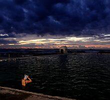 Morning Swim  - Merewhether baths  by kerenmc