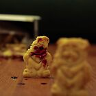 graham cracker zombie bear apocalypse!  by Ambur Fraser