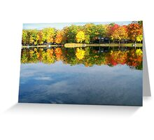 Spectacular  Fall Colors Greeting Card