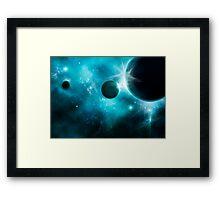 Cosmic Explosion Framed Print
