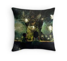 childhood is the most wonderful fairy tale of all Throw Pillow