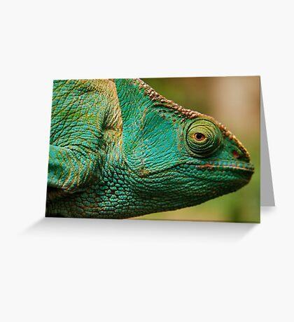 karma chameleon? Greeting Card