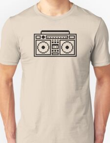 Retro Ghettoblaster T-Shirt