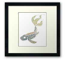 Fish Decal - No Outline Framed Print