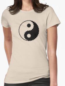 Yin and Yang - Gearwheel Womens Fitted T-Shirt