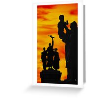 Monument to the Russian Army Greeting Card