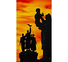 Monument to the Russian Army Photographic Print