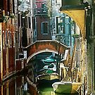 Venice - timeless perspective-particular by Luisa Fumi