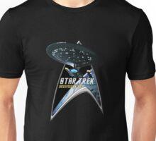 StarTrek Command Silver Signia Enterprise 1701 D  2 Unisex T-Shirt