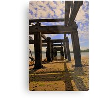 The old pier Metal Print