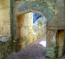 Arches at Bodiam Castle – 1 by hootonles
