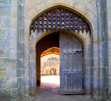 Arches at Bodiam Castle – 3 by hootonles