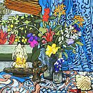 Still life and Kris by maria paterson